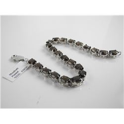925 Sterling Silver Custom Bracelet with (20ct) Sm