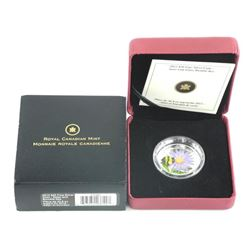 2012 $20 Fine Silver Coin - Aster and Bumble Bee.