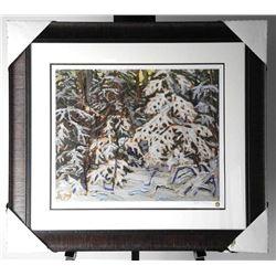 "Tom Thomson (1877-1917) ""Winter Woods"" Litho Gal"