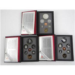 Lot (3) RCM Proof Mint Sets: 1990-1992-1993