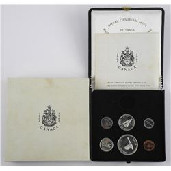 (1867-1967) Coin Set with Silver - Note Condition.