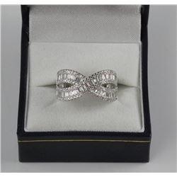 925 Sterling Silver Ring Set with Swarovski Elemen
