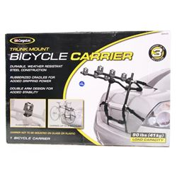 CargoLock Trunk Mount, Bicycle Carrier. 1 bike 90l