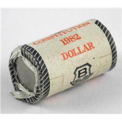 Original 1982 Constitution Dollar Original Mint Ro