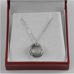 925 Sterling Silver Pendant and Chain