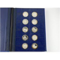 Medallic History of Canada 50 Medals - Complete Fi