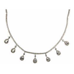 Ladies Custom Fancy Necklace Bead Set Multi Bar Le