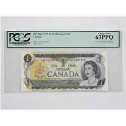 1973 $1 * Replacement Note - Covered Bridge Collec