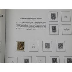 Scott - Canada Stamp Album estate Collection