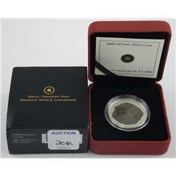 2008 9.9 Fine Silver  Tricerataps  LE/COA $4.00