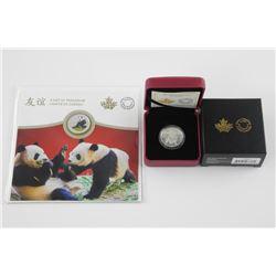 Lot (2) .9999 Fine Silver $8.00 Coin, Lion Dance a