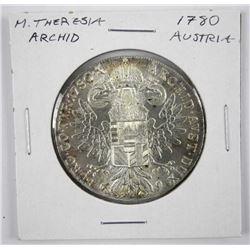 1780x Silver Thaler Coin Restrike