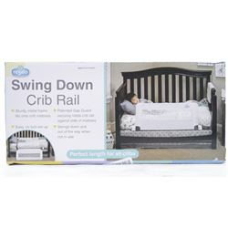 Swing Down Crib Rail 2-5 Years, Fits All Cribsξ