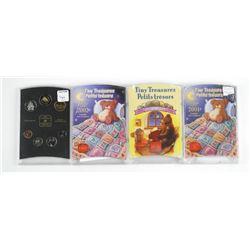 Lot (4) UNC Mint Sets 1999 - 2001 - 2002 - 2000