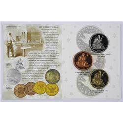 1836 Proof Gobrecht Dollar - Liberty Sealed (1st)