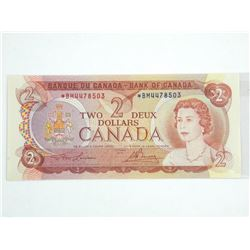 Bank of Canada 1974 Two Dollar *BM