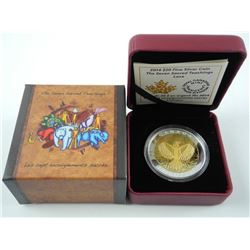 .9999 Fine Silver $20.00 Coin 'LOVE' LE/C.O.A.