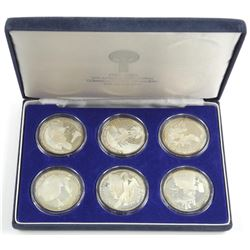 Los Angeles - 925 Sterling Silver 6 Coin Set