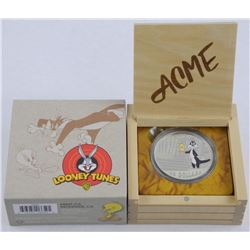 $30 .9999 Fine Silver Looney Tunes Coin. Classic S