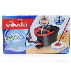 Vileda EasyWring Microfibre Spin Mop & Bucket Floo