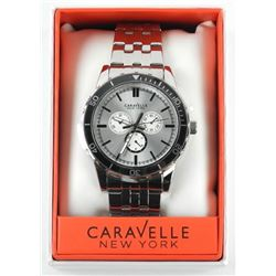 Gents Caravelle New York (132) with Chrono Face