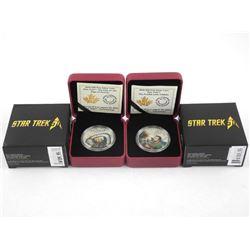.9999 Fine Silver $20.00 Coin STAR TREK - The Trou