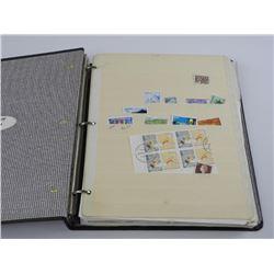 Estate World Stamp Collection - Binder