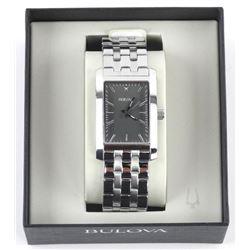 UNISEX Bulova Watch. Black Dial (MKR) (137)