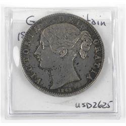 Great Britain Crown KM#741 925 Silver 1845 - (XF)