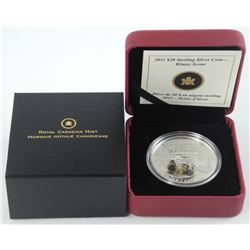 2011 - 925 Sterling Silver Coin 'Winter Scene'