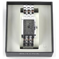 BULOVA Diamond Set Watch Black Dial (MKR)