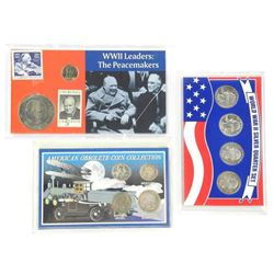 Lot (3) USA Mint Coin Sets