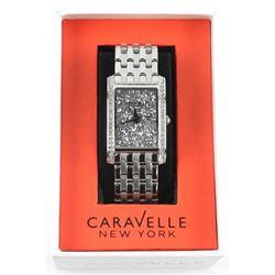 Ladies Caravelle New York Designer Watch with Swar