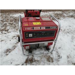 Toro T2500 generator