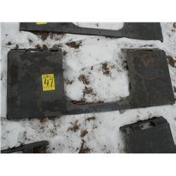 Brute heavy duty weld-on tool plate -New