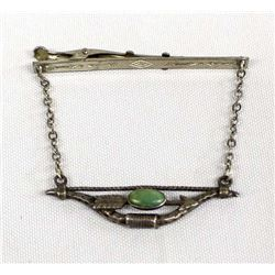 Navajo Route 66 Sterling Tie Bar