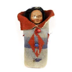 Large Vintage Looking Right Skookum Doll