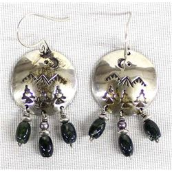 Native American Navajo Sterling Silver Earrings