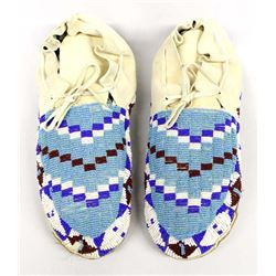 Native American Sioux Beaded Moccasins