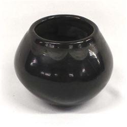 Vintage San Ildefonso Pottery Jar by D. Tafoya
