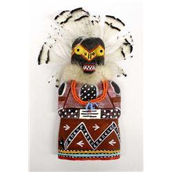 1991 Hopi Lolokonq Flat Kachina by Ronald Yava