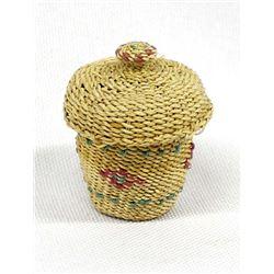 Alaskan Attu Island Miniature Basket