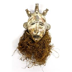 African Pottery Mask