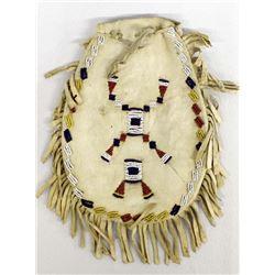 Antique Plains Indian Beaded Pouch