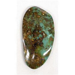 Evan's Mine Baja California Turquoise Cabochon