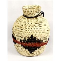 Native American Apache Split-Stitch Basket