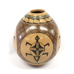 Mata Ortiz Polychrome Pottery Jar by Fito Tena