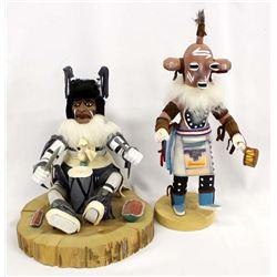 2 Native American Navajo Kachinas