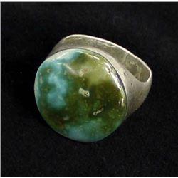 Large Vintage Native American Navajo Silver Ring