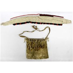 African Beaded Belt and Apron